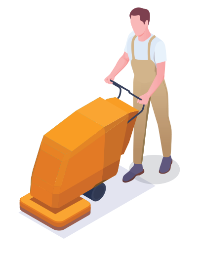 Strojno čišćenje podova